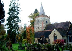 Nutfield Church Autumn 3