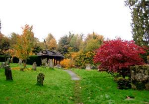 Nutfield Church Autumn 4