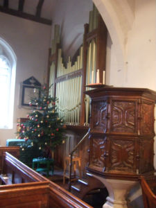 Pulpit and Tree