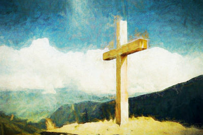 Cross for Holy Week