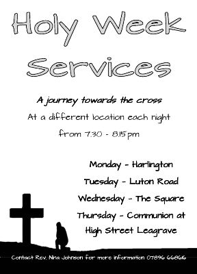 Holy Week Services 1