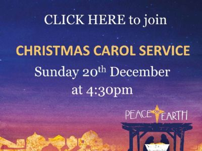2020 Carol Service CLICK HERE