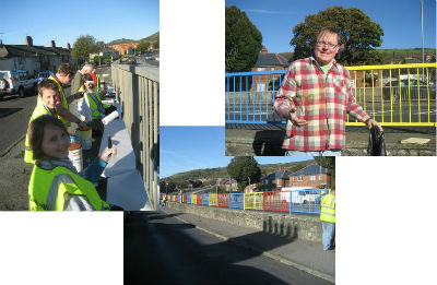 MAD 2013 Make a Difference week in Folkestone - painting the railings
