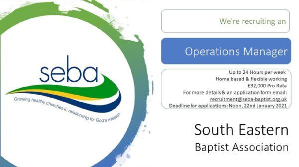 SEBA Operations Manager advert