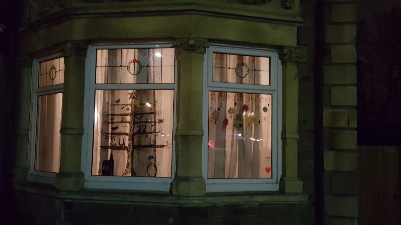 Advent window