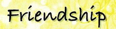 Friendship logo
