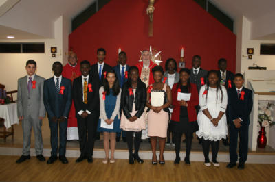 Confirmation Group 2014