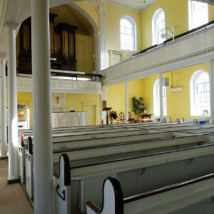 Walcot Church interior