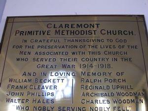Claremont War Memorial