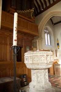 The Font at St Michael's