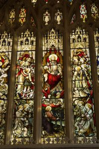 St Michael's East Window-Detail