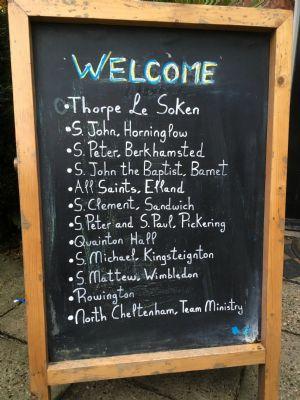 The Bull Inn Welcome Board