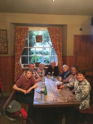 Pilgrims in the Pub