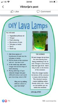 How to make Lava Lamp