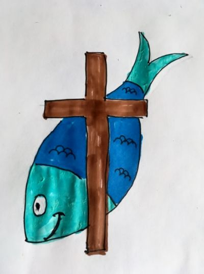 fish+cross