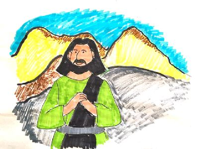 Moses in desert