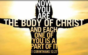 body of Christ we believe