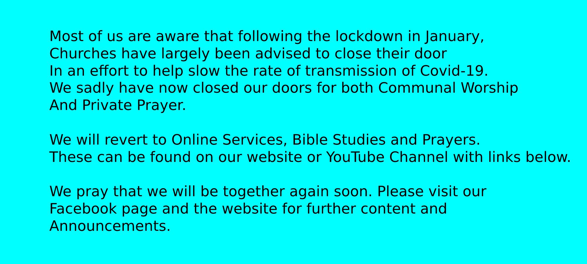 church closed 4