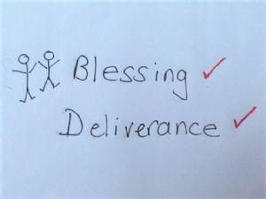 blessing deliverance