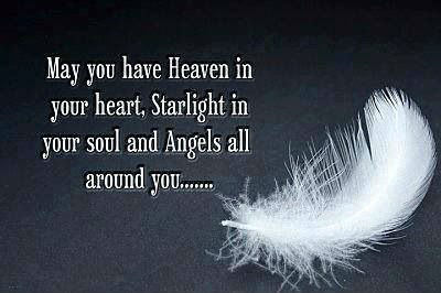 angel saying