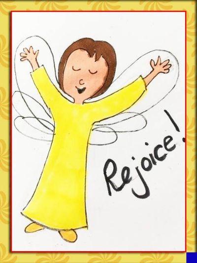 angel rejoice