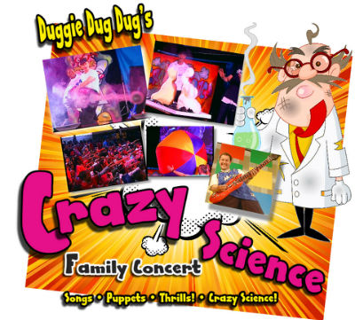 Duggie Dug Dugs Crazy Science Party