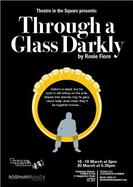 Glass darkly poster