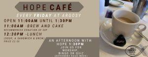 Details of Hope Cafe