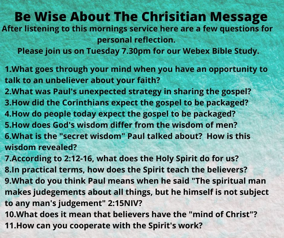 Christian message
