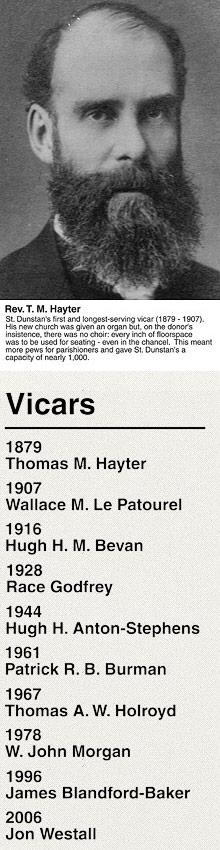 Vicars List