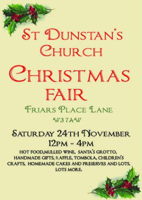 Christmas Fair Poster 2018