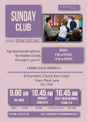 Sunday Club Service