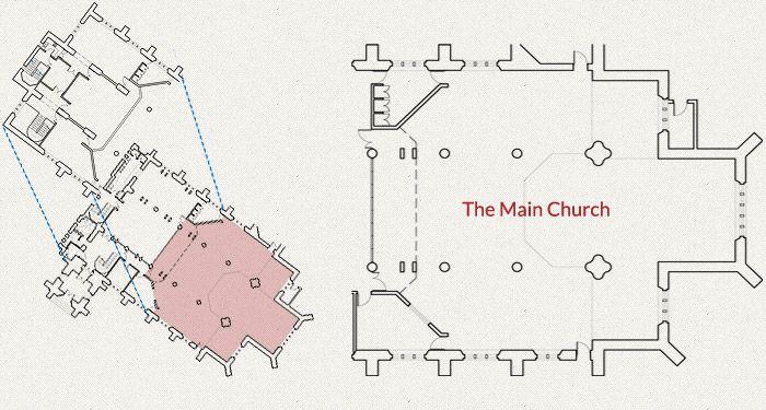 Main church Floor Plan