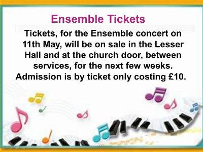 Tickets Ensemble