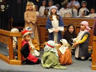Holiday club in church hall