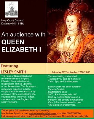 An audience with Elizabeth I