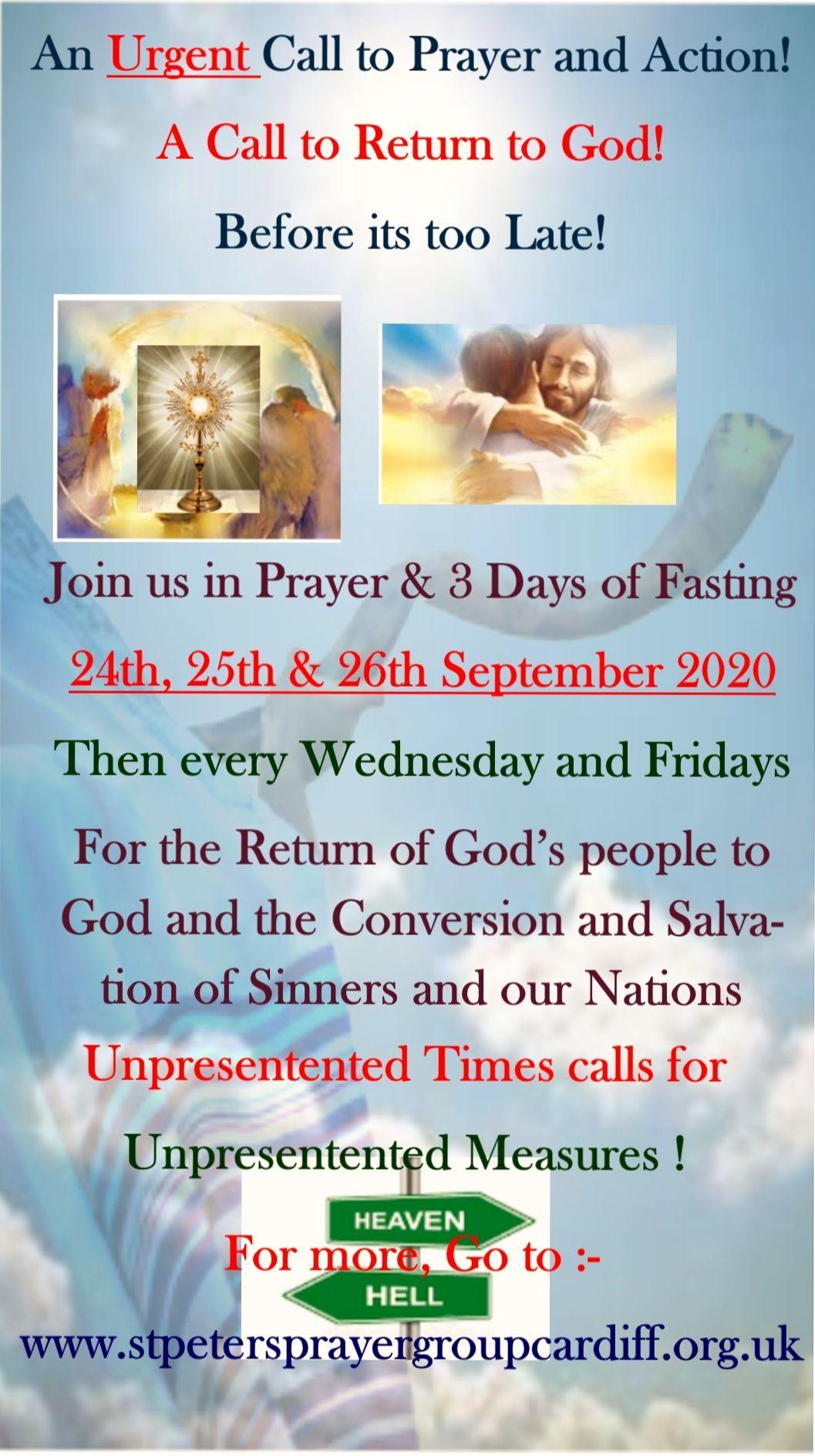 A Call to Return to God Sept 2020