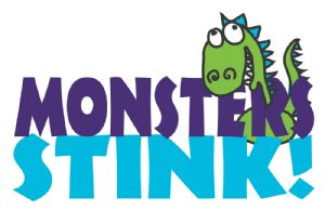 Monsters Stink logo