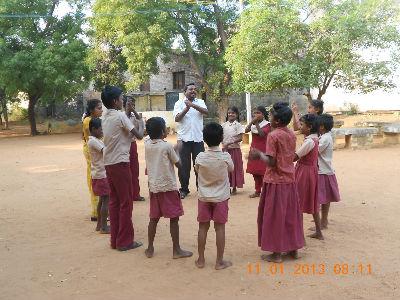 Children at Karur