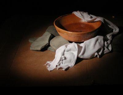 Bowl and Towel
