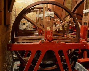 The new peal of 10 bells, picture Tony Skellett