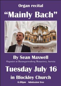 Bach organ concert