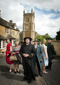 Father Brown and his team