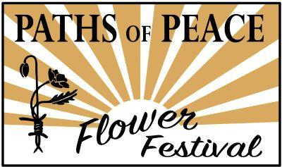 paths of peace flower festival logo