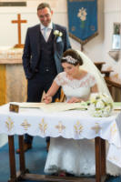 Barratt Wedding signing