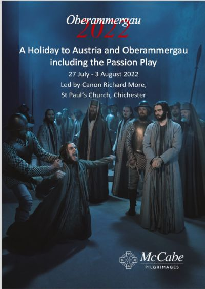 Oberammergau brochure cover