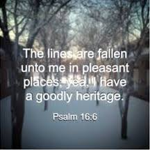 Psalm 16:6