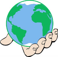 World in Gods hand