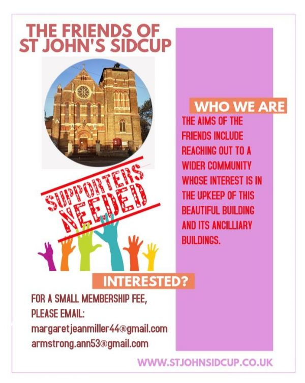 The Friends of St Johns