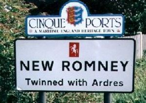 New Romney Sign